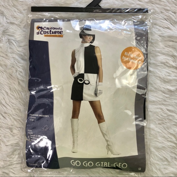 California Costumes Other - California costumes mod go-go girl outfit